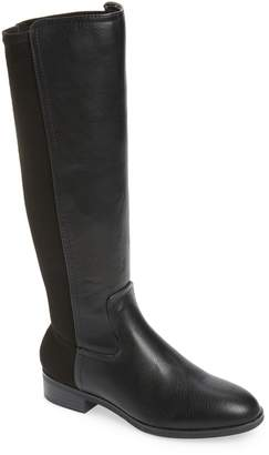 Kensie Carin Stretch Back Knee High Boot