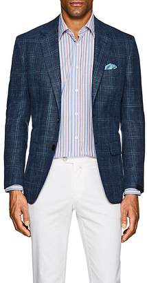 Sartorio Men's PG Checked Two-Button Sportcoat