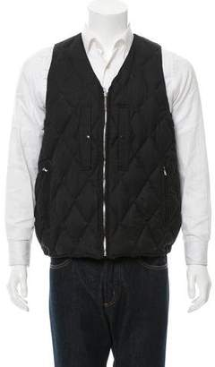 Haver Sack Quilted Down Vest w/ Tags