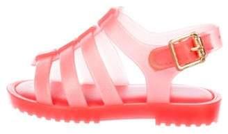 Mini Melissa Girls' Cage Jelly Sandals