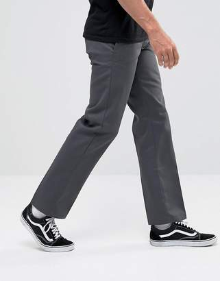 Dickies 873 work pant chino in straight fit in grey