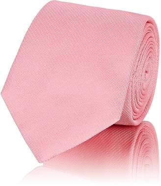 Barneys New York Men's Textured Silk Necktie