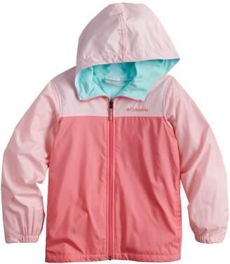 Columbia Girls 4-18 Fleece-Lined Windbreaker Jacket