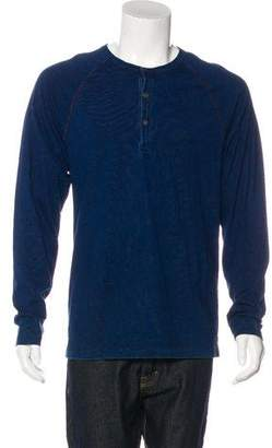 Todd Snyder Long Sleeve Henley T-Shirt w/ Tags