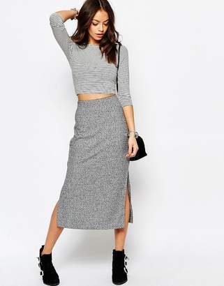 Only Pencil Jersey Skirt