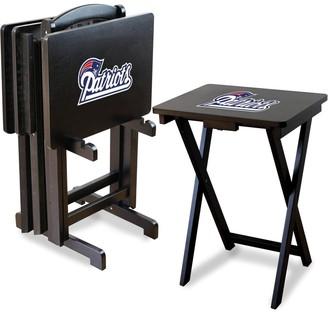 Kohl's New England Patriots TV Tray Table Set