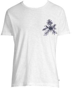 Bonobos Slim-Fit Floral Chainstitch Chest Tee