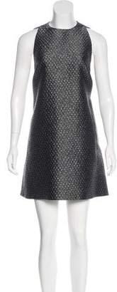 Balenciaga Jacquard Mini Shift Dress w/ Tags