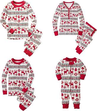 Shukqueen Matching Family Pjs Christmas Entire Family Pajamas Sets Sleepwear