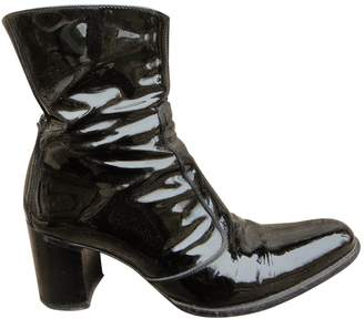 Free Lance Queenie patent leather ankle boots