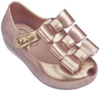 Mini Melissa Melissa Shoes Mini Ultragirl Triple Bow Mary Jane Flat