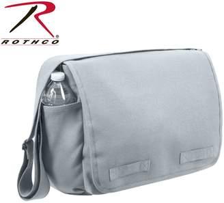 Rothco Messenger Bag - Vintage Heavyweight Canvas, Gray