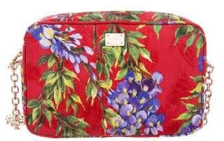 Dolce & Gabbana Embroidered Floral Shoulder Bag