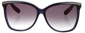 Bottega VenetaBottega Veneta Intrecciato Oversize Sunglasses