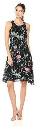 Tommy Hilfiger Women's Floral Chiffon Dress