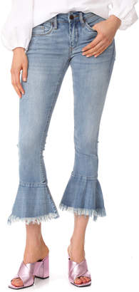 Blank Denim Trumpet Flare Jeans $98 thestylecure.com