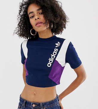 adidas Linear Logo Cropped Tee