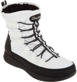 Skechers Waterproof Quilted Bungee Winter Boots