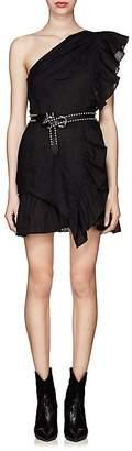 Etoile Isabel Marant Women's Teller One-Shoulder Linen Dress