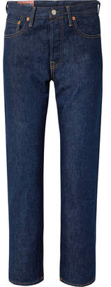 Acne Studios 1997 High-rise Straight-leg Jeans - Mid denim
