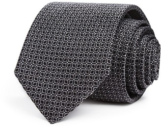 Eton of Sweden Slate Square Neat Classic Tie $145 thestylecure.com