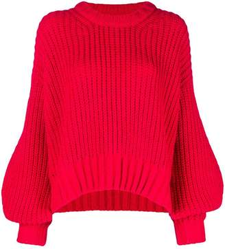 Zadig & Voltaire Zadig&Voltaire Fashion Show chunky knit bell sleeve sweater