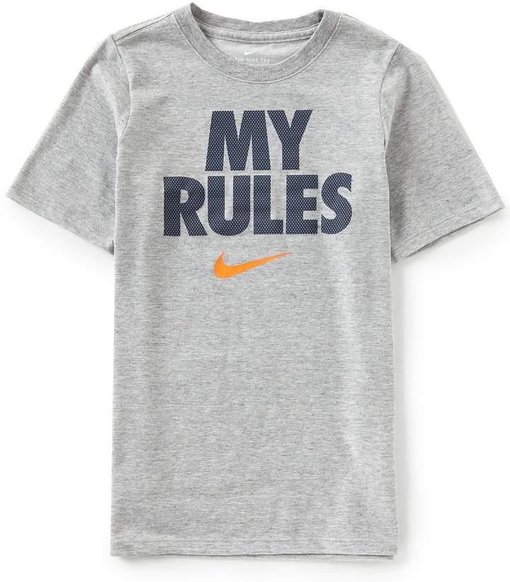 Big Boys 8-20 Dry Short-Sleeve My Rules Tee