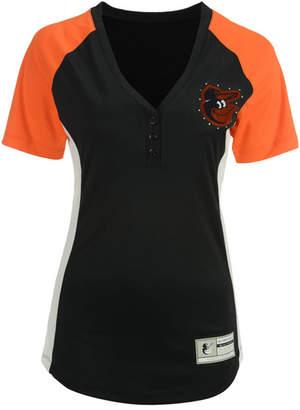 Majestic Women's Baltimore Orioles League Diva T-Shirt