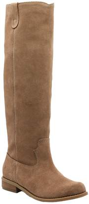 Sole Society Leather or Suede Tall Boots - Hawn