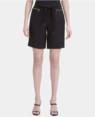 Calvin Klein Metal-Accent Shorts
