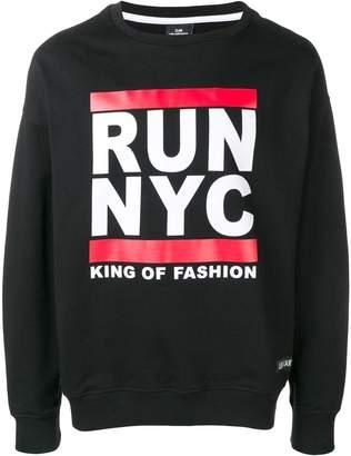 Les (Art)ists Run NYC sweatshirt