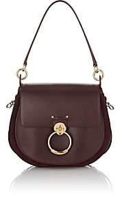 Chloé Women's Leather & Suede Shoulder Bag - Wine
