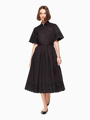 Kate Spade Cutwork midi dress