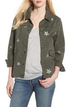 DEAR JOHN DENIM Embroidered Stars Jacket