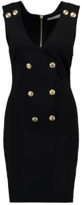 Pierre Balmain Gold Button Dress