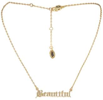 Juicy Couture Beautiful Name Plate Necklace