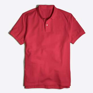 J.Crew Factory Tall washed piqué polo shirt