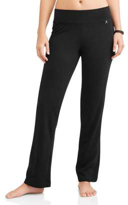 Danskin Women's Core Active Sleek Fit Yoga Pant