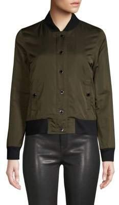 Hudson Jeans Nylon Bomber Jacket