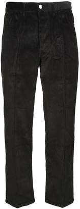 Kenzo Straight Fit Trousers