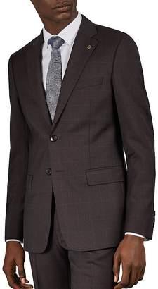 Ted Baker Westj Debonair Checked Slim Fit Jacket