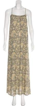 Vince Sleeveless Silk Dress