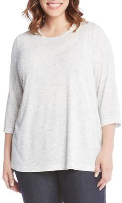 Karen Kane Beaded Tunic Top