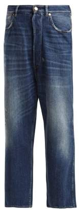 Golden Goose Breezy High Rise Straight Leg Jeans - Womens - Denim