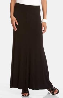 Karen Kane Flared Maxi Skirt