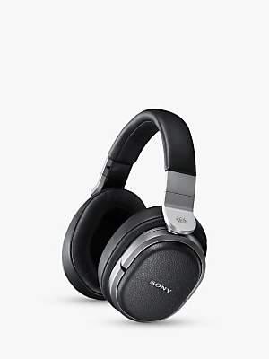 Sony MDRHW700DS Digital Surround RF 9.1 Channel Wireless Over-Ear Headphones, Silver