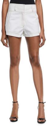 Cinq à Sept Tous Les Jours Shiloh High-Rise Twill Shorts