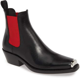 bb79f7e129d Calvin Klein Claire Western Chelsea Boot