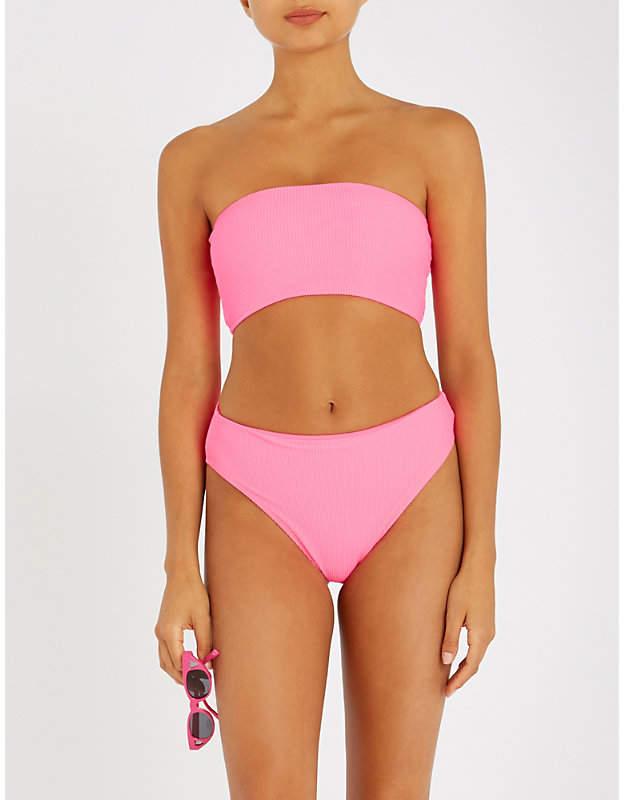 FRANKIES BIKINIS Jenna bandeau bikini top