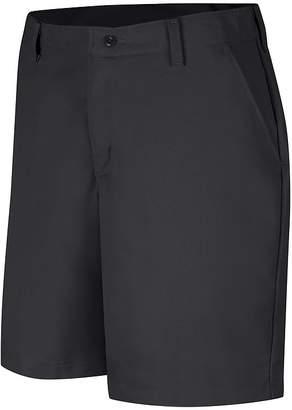 Red Kap Womens Industrial Plain-Front Shorts - Plus